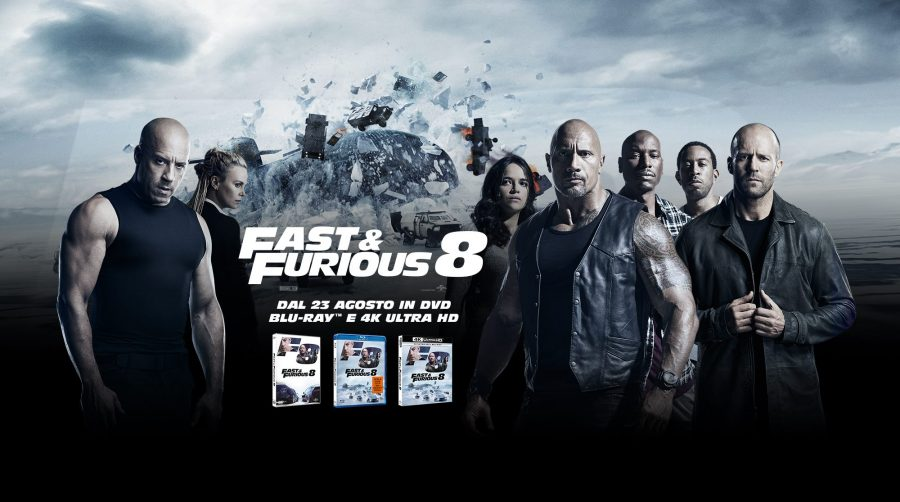Fast & Furious 8 in dvd