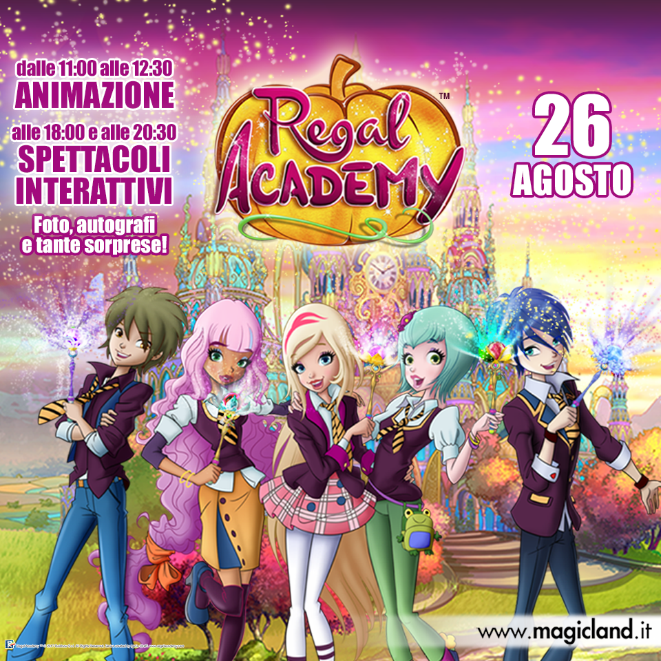 real academy a rainbow magicland