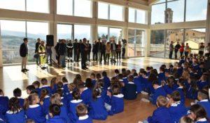 Terremoto, inaugurata a Camerino nuova scuola Salvo D'Acquisto