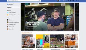 """Facebook Watch sperimentazione finita. Le """"serie"""" diventano social"""