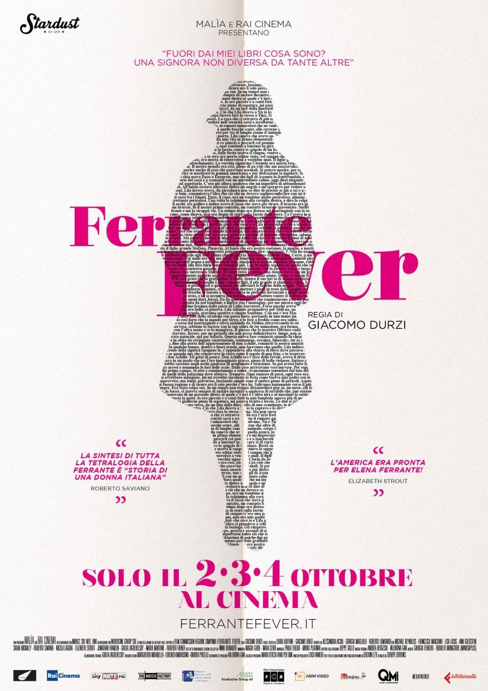 napoli film festival ferrante fever