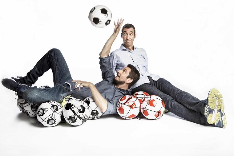 Luca e Paolo alla conduzione di Quelli che il calcio