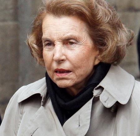 Liliane Bettencourt L'Oréal
