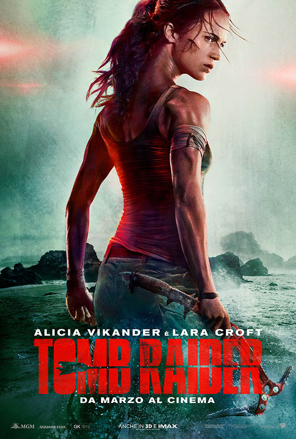 primo trailer del film di tomb raider