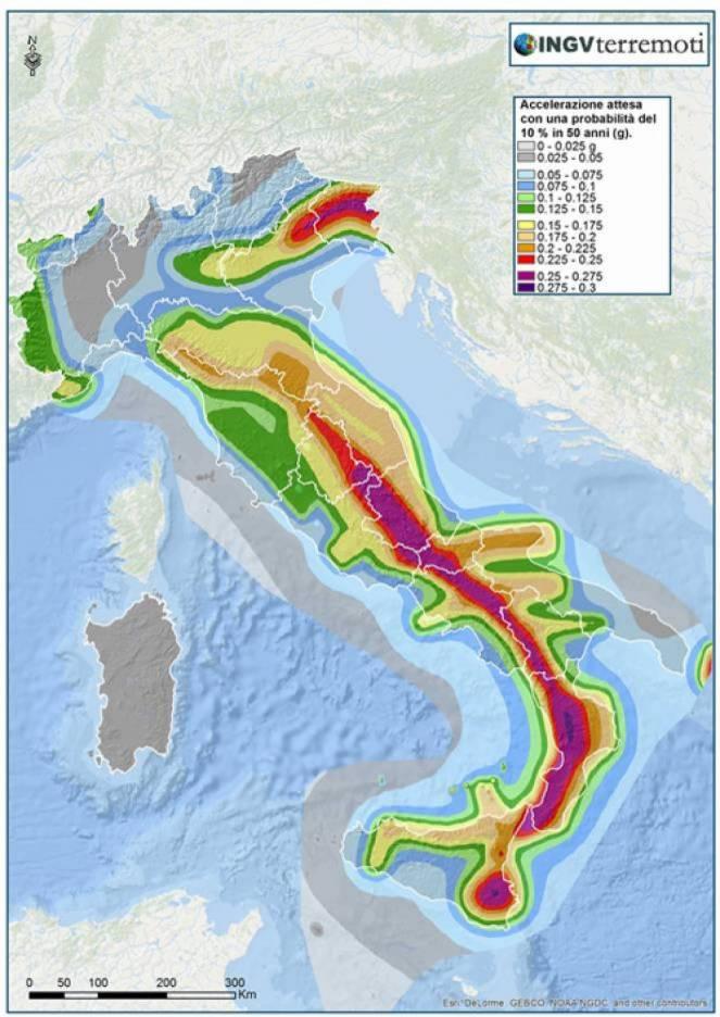terremoti rischio sismico