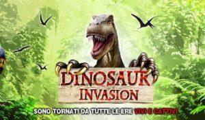 Dinosaur Invasion, i dinosauri tornano in vita al Guido Reni District di Roma
