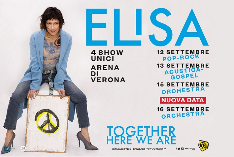 elisa TOGETHER HERE WE ARE