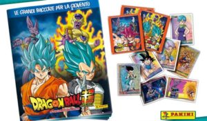 In edicola con Panini le figurine di Dragon Ball Super