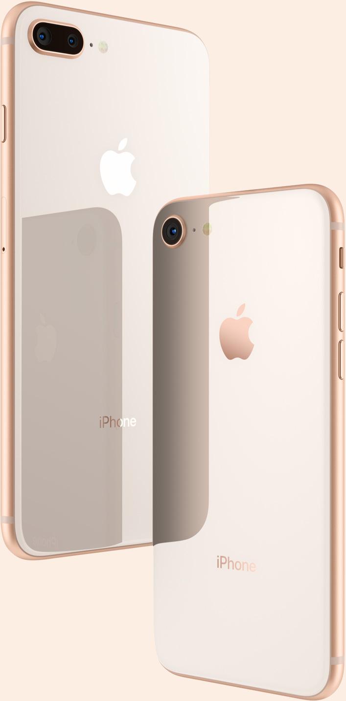 iphone x e 8