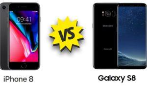 iPhone 8 vs Galaxy S8: caratteristiche a confronto