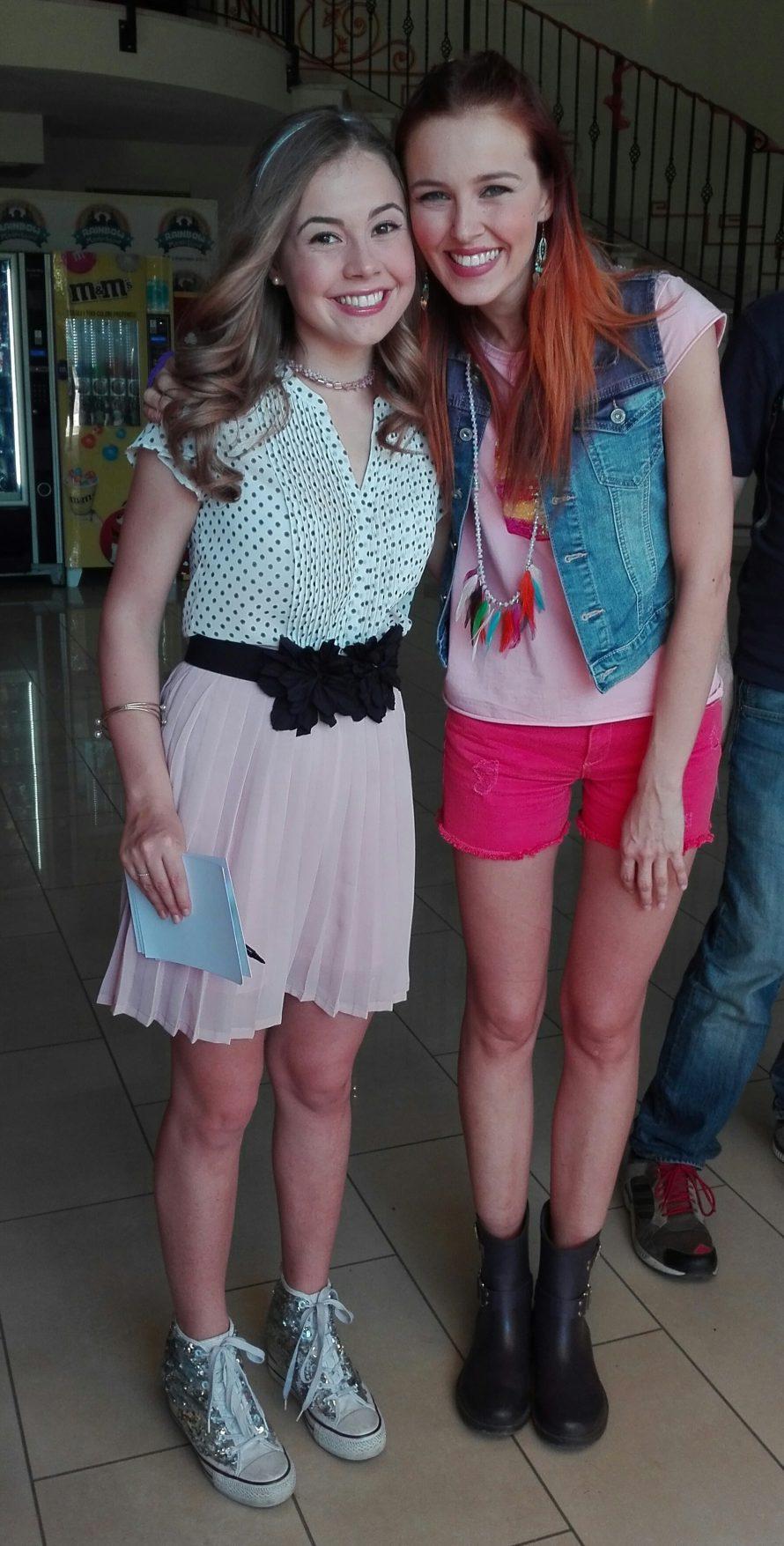 Maggie e bianca al rainbow magicland per incontrare i fan for Disegni da colorare maggie e bianca
