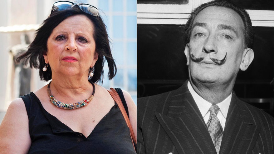 Pilar non è figlia di Salvador Dalì