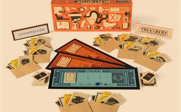 Secret Hitler gioco da tavolo