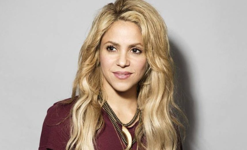 Shakira omaggia Barcellona