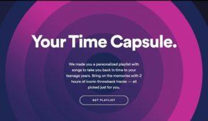 """Spotify, ricordi in musica grazie al nuovo servizio """"Your Time Capsule"""""""