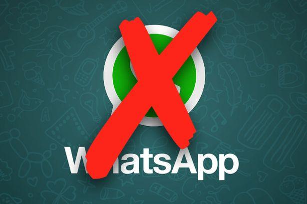 account whatsapp scaduto