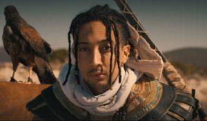 Ghali è Bayek nel Real Trailer di Assassin's Creed Origins