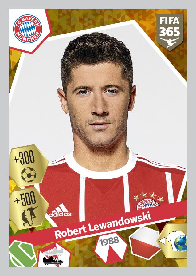 Lewandowski - Bayern Monaco PF365 2017-18