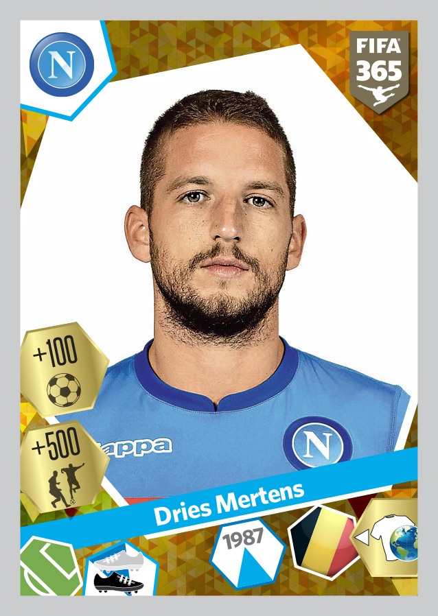 Mertens - Napoli PF365 2017-18