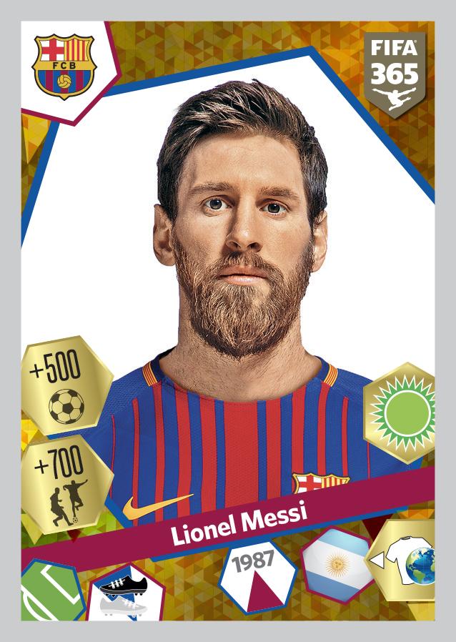 Messi - Barcellona PF365 2017-18