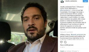 """Claudio Santamaria difende la compagna: """"Gli haters vanno interdetti dai social"""""""