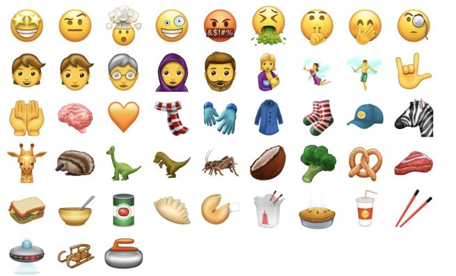 ios 11 nuove emoji per iPhone e iPad