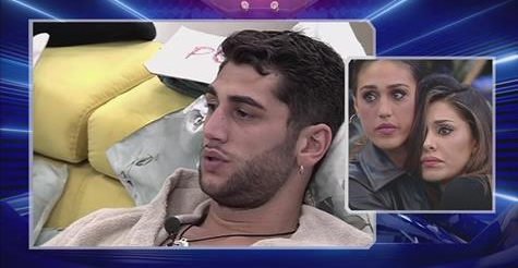 GF Vip: Jeremias litiga con Aida e lei accusa un malore