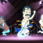 Freddie Mercury cartone animato in Big Mouth
