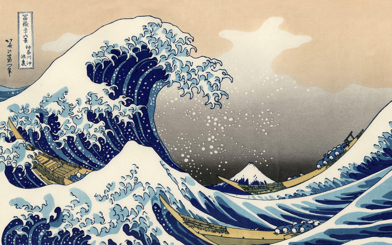 hokusai la grande onda