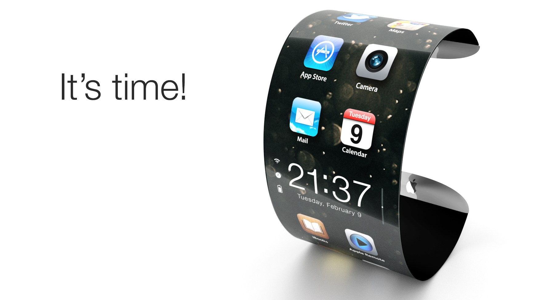 iPhone saranno pieghevoli
