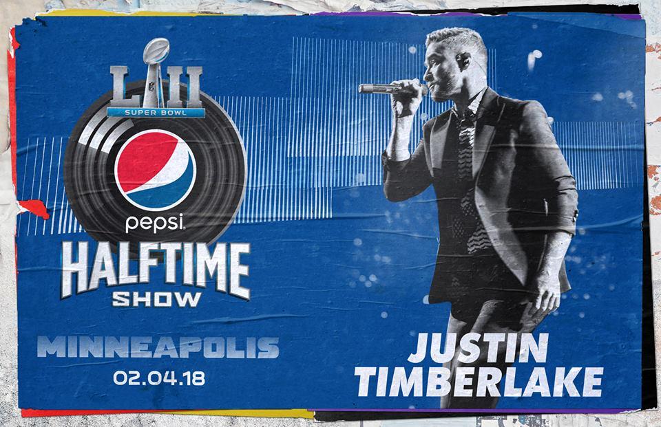 Justin Timberlake sarà il protagonista del Super Bowl
