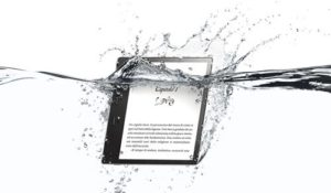 Nuovo Kindle Oasis di Amazon: schermo da 7 pollici e waterproof
