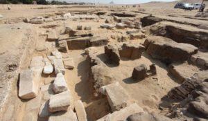 Scoperto a Giza il tempio perduto di Ramses II