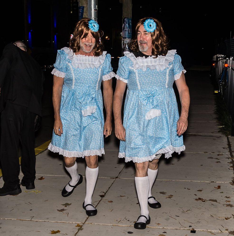 vip si travestono per Halloween