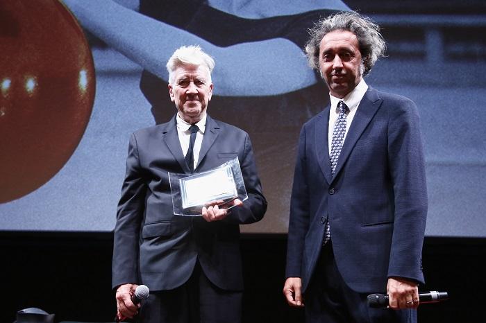Lifetime Achievement Award To Davide Lynch - 12th Rome Film Fest