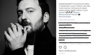 È il giorno di Cesare Cremonini: il cantautore torna con Poetica