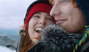 Ed Sheeran innamorato sulla neve nel video di Perfect