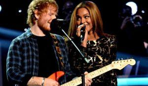 Ed Sheeran e Beyoncé duettano in Perfect, domani la nuova versione del singolo