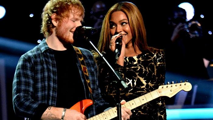 Ed Sheeran e Beyoncé