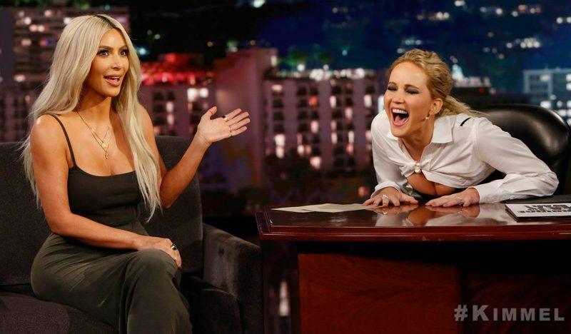Jennifer Lawrence intervista kim Kardashian