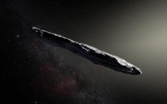 oumuamua asteroide alieno
