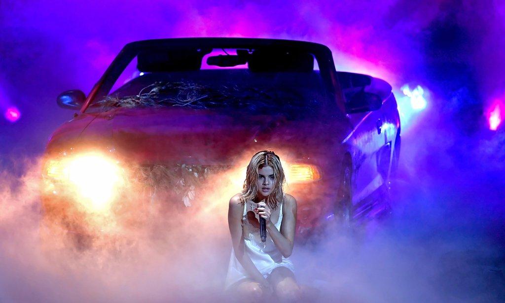 Selena Gomez agli Ama 2017