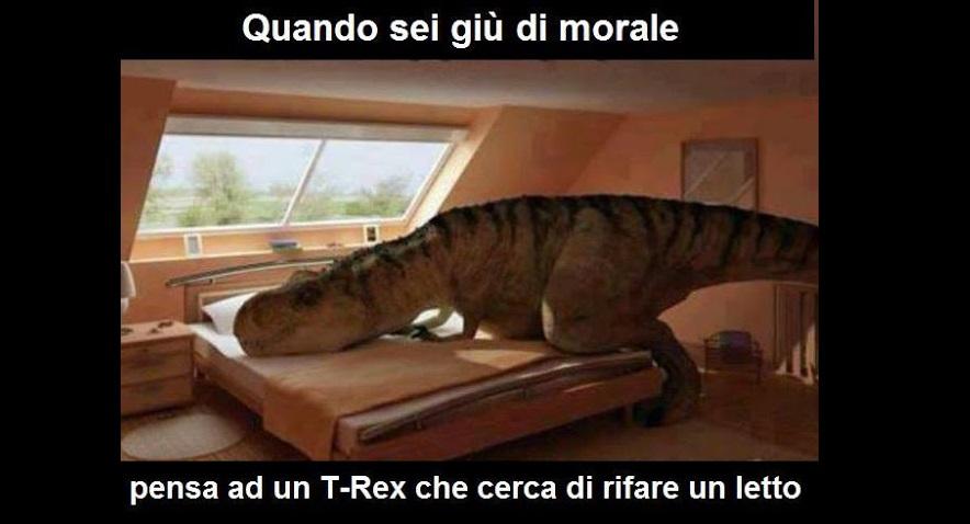 t rex meme
