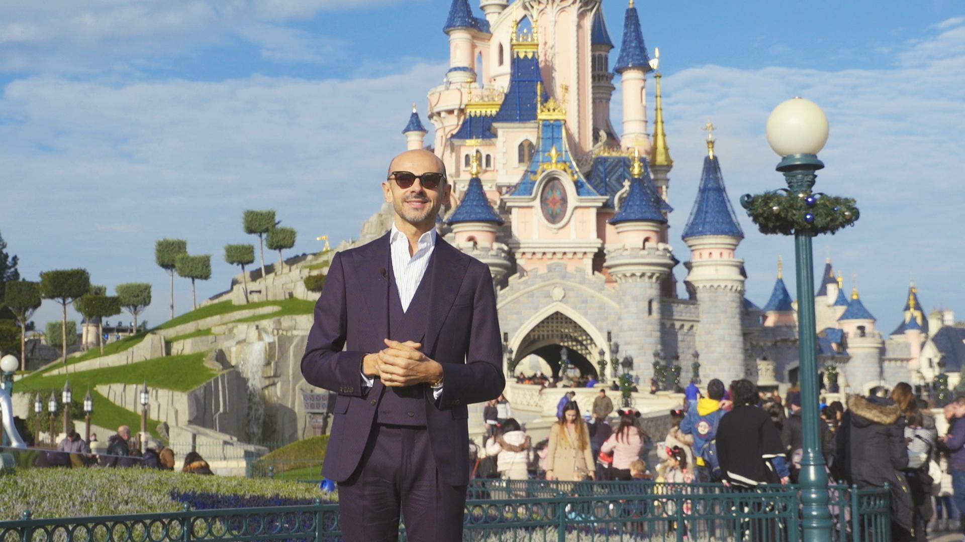 Enzo Miccio a Disneyland Paris