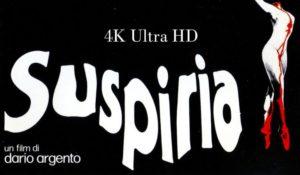 Suspiria 4k, su Rai 4 il capolavoro di Dario Argento in versione restaurata