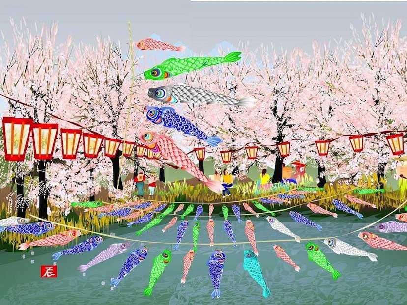 Tatsuo Horiuchi, artista giapponese che dipinge con Microsoft Excel (1)