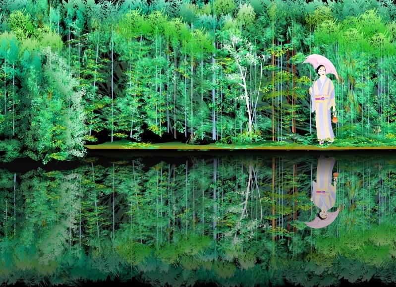 Tatsuo Horiuchi, artista giapponese che dipinge con Microsoft Excel (2)