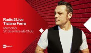 Tiziano Ferro a Radio2 Live. L'ultimo concerto della stagione è di 'ferro'
