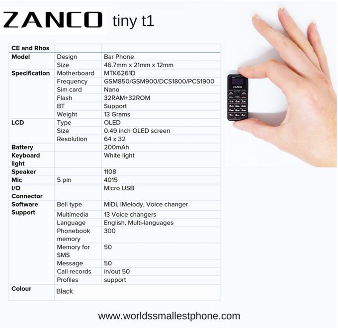 cellulare più piccolo del mondo (3)