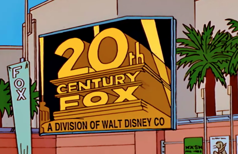 disney acquista la fox simpson